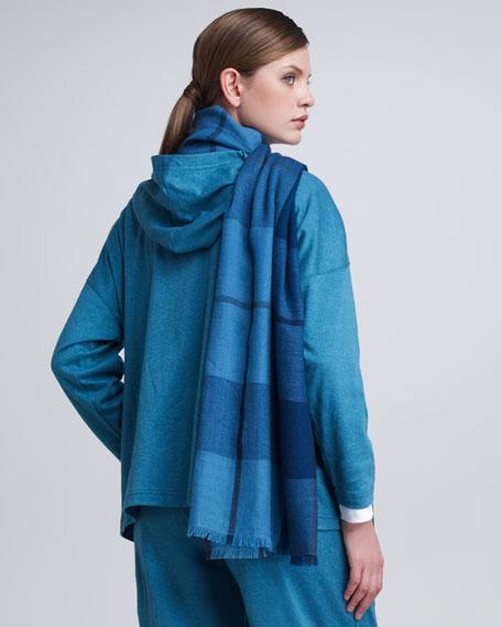 Melange Hooded Zip Jacket