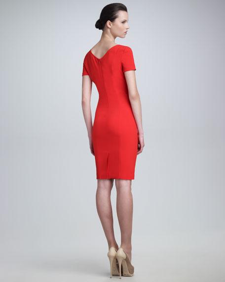 Scoop-Neck Dress