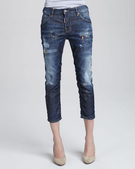 Glam Rock Boyfriend Jeans