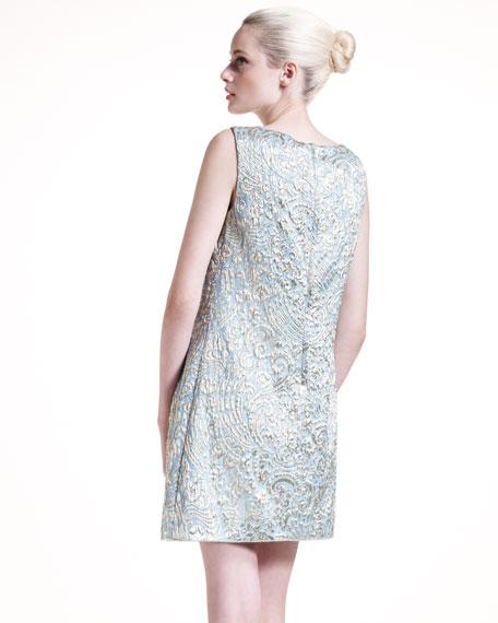 A-Line Brocade Dress