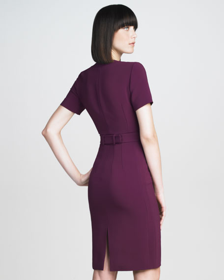 Stretch-Cady Dress