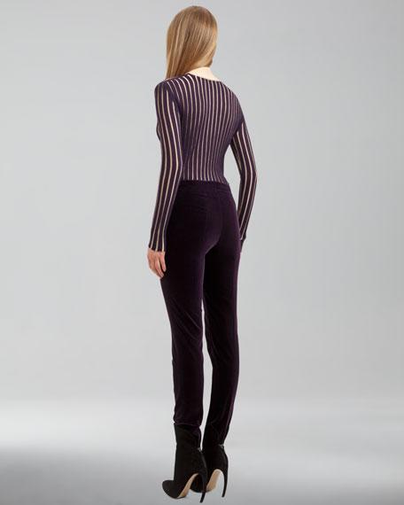 Marcie Cotton Velvet Pants