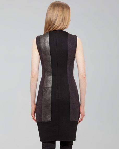 Paneled Sheath Dress