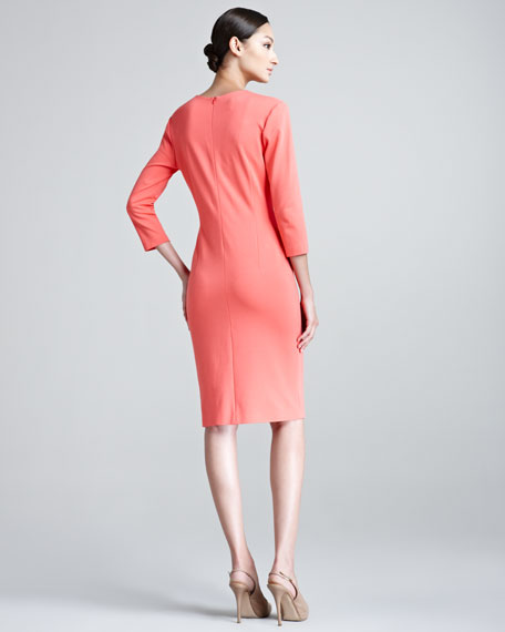Duoyan Dondi V-Neck Jersey Dress