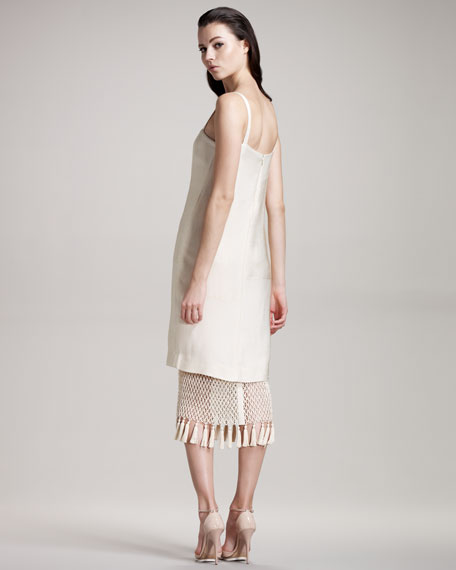 Crochet Tassel Sweep Dress