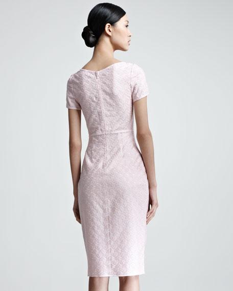V-Neck Empire-Waist Dress