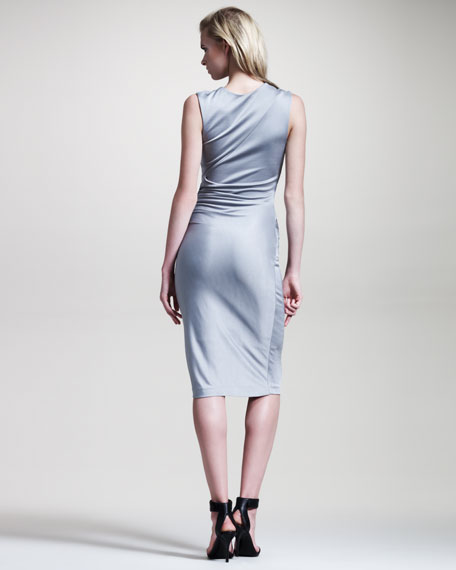 Shiny Jersey Dress