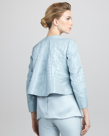 Textured Swing Jacket