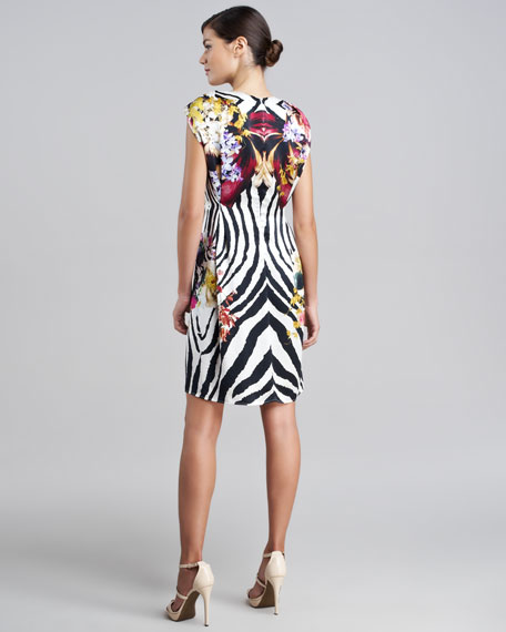 Exotic Sheath Dress