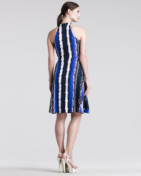 Che VSL Racerback Printed Dress