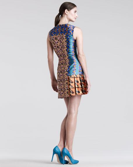 Mik Printed Silk Dress