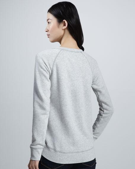 NM + Target Abstract-Print Sweatshirt
