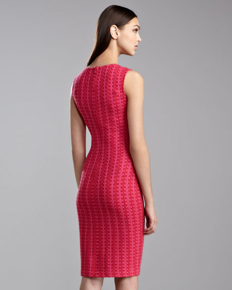Mid-Century Tweed Dress