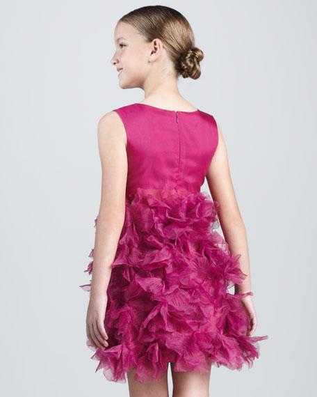 NM + Target Girls' Petal-Skirt Dress