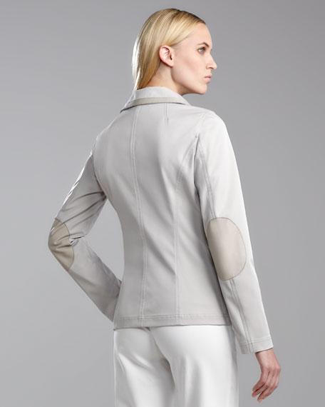 Twill Techno Jacket