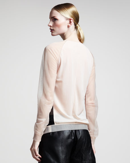 Colorblock Sport Sweatshirt