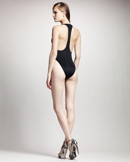 One-Piece Bodysuit, Black