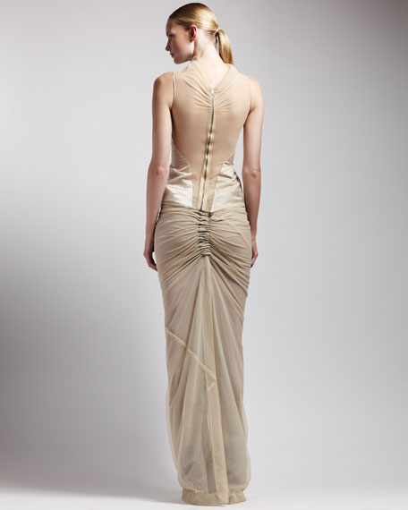Long Shrimp Skirt