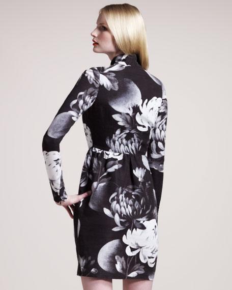 Dalia Floral-Print Dress