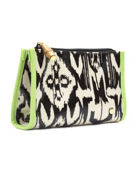 Sumatra Zip Makeup Bag, Small