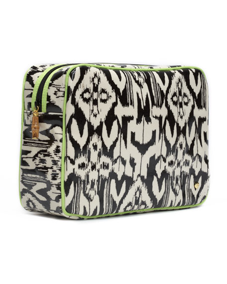 Sumatra Zip Makeup Bag, Jumbo