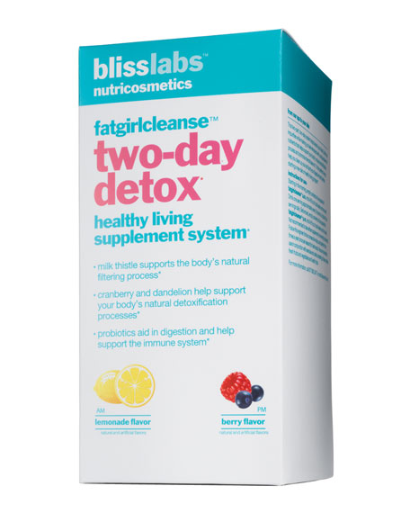 FATGIRLCLEANSE TWO-DAY DETOX