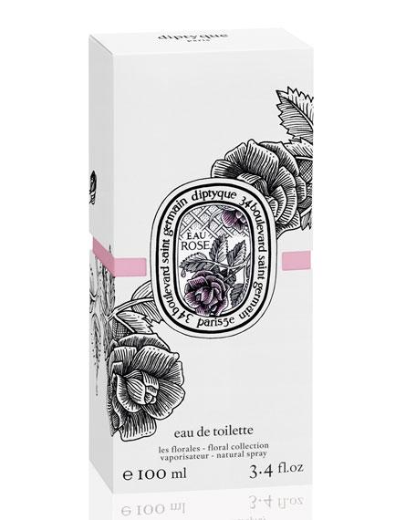 Eau Rose Eau de Toilette, 3.4 oz./ 100 mL