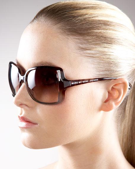 Ombre Plastic Sunglasses