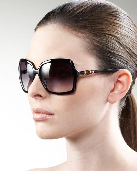 Plastic Horsebit Sunglasses