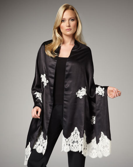 Silk & Lace Stole