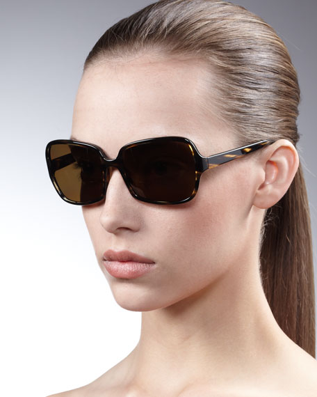 Francisca Butterfly-Frame Sunglasses