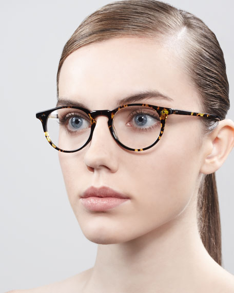 Riley Fashion Glasses, Black Tortoise