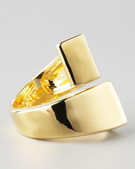 Lauren Golden Bypass Ring