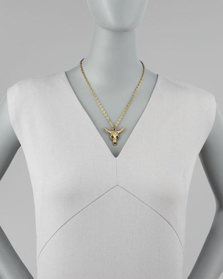 Longhorn Pendant Necklace