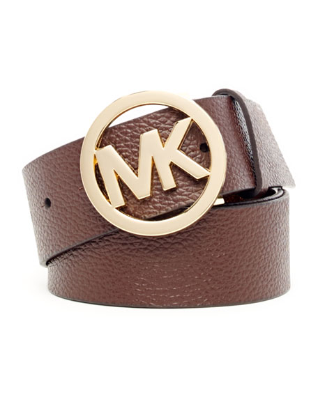 Reversible Logo-Embossed Belt