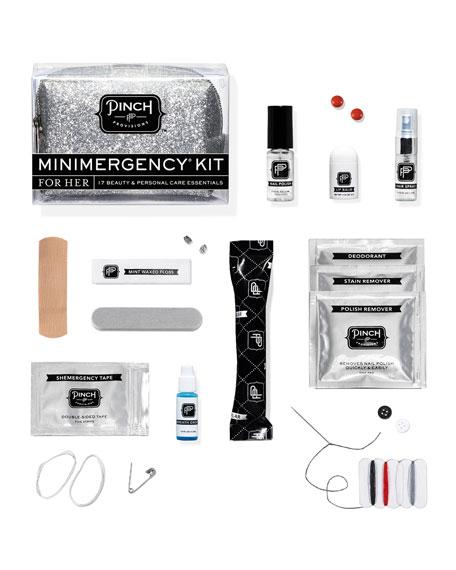 Minimergency Kit For Her, Silver