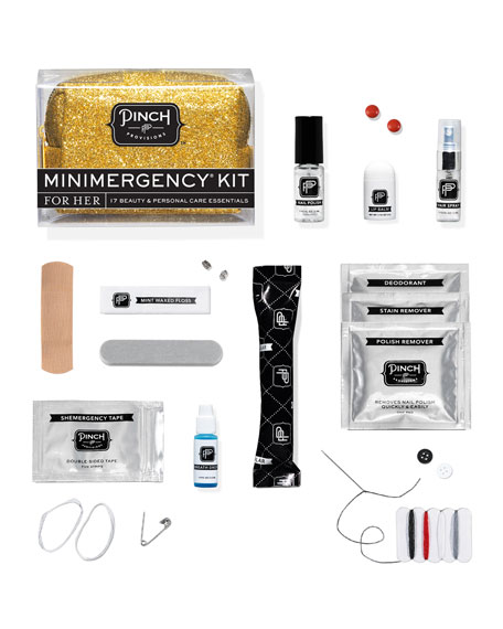 Minimergency Kit For Her, Gold