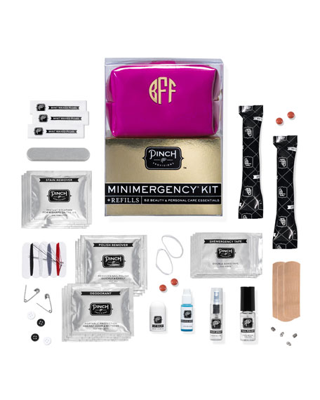 Minimergency Kit For Her With Refill, Plum