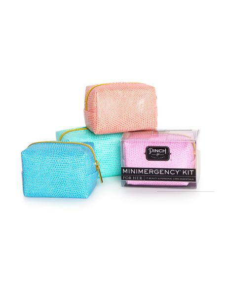 Minimergency Kit For Her, Blue Raspberry