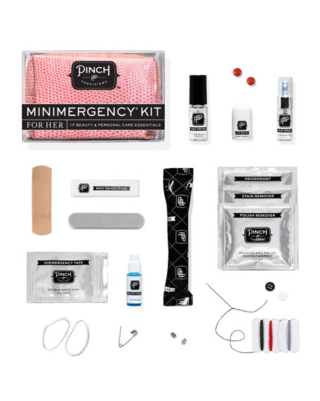 Minimergency Kit For Her, Tangerine
