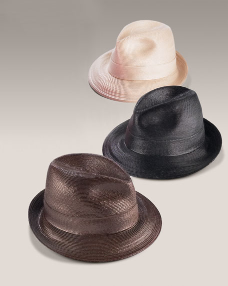 Lacquered Fedora