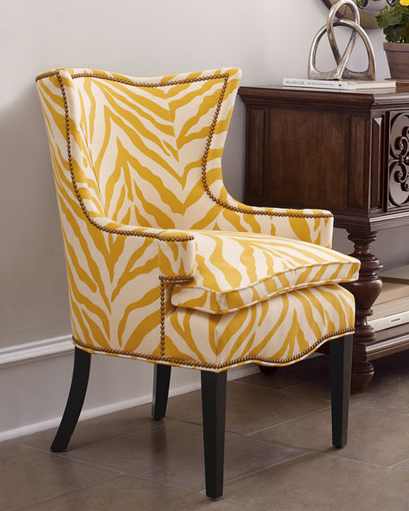 """Sunflower Zebra"" Chair"