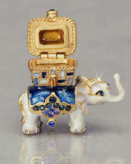 """""""Templeton"""" Mini Elephant Box"""