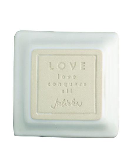 """""""Love"""" Small Cornerstone Tray"""