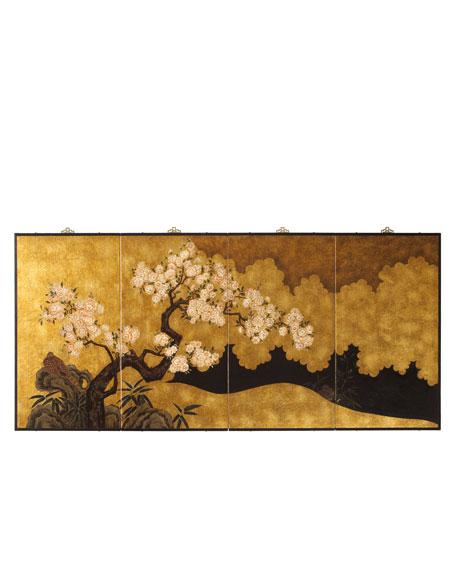 Asian Wall Panel
