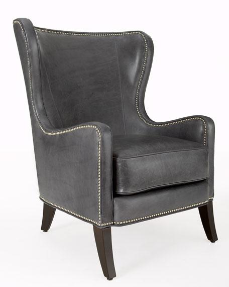 Granite Wingback Chair