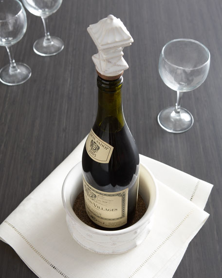 Bottle Stopper & Coaster set