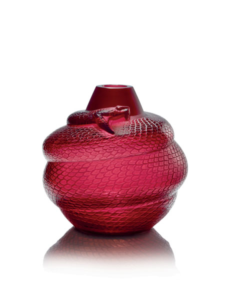 Red Serpent Vase