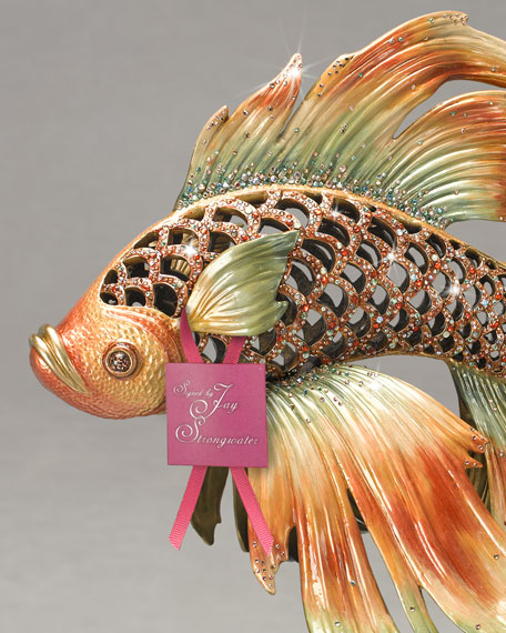 Namiko Japanese Fighting Fish Figurine