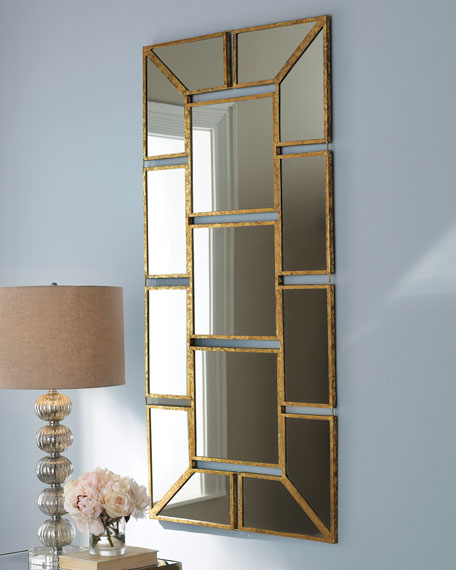 """Mosaic"" Mirrored Wall Decor"